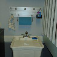 Customer reviews, Unique Custom Closets, custom closet, Custom Closets, Wilmington NC, garage sink, garage paper towel rack