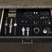 velvet jewelry divider