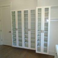 Customer reviews, Unique Custom Closets, custom closet, Custom Closets, Wilmington NC, glass door shelving
