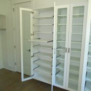 Customer reviews, Unique Custom Closets, custom closet, Custom Closets, Wilmington NC, pull out shelving