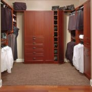 Cherry Walk In Closet, Master Walk In Closet, Custom Walk In Closet, Unique Custom Closets, Custom Closets, Personal Storage, Personal Closet, Walk-in Closet, Closet construction, custom closets Wilmington, Wilmington NC, Closet Accessories, Unique Custom Closets & Accessories