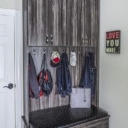 Laundry Room, Laundry Storage, Mudroom, mudroom storage, Unique Custom Closets, custom mudroom, custom mudroom accessories, custom laundry room, mudroom great storage