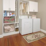Laundry Room, Laundry Storage, Mudroom, mudroom storage, Unique Custom Closets, custom mudroom, custom mudroom accessories, custom laundry room, simple laundry room