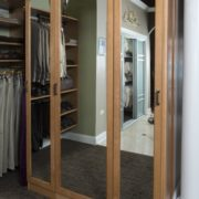 closet accessories, Unique Custom Closets, Custom Closets Wilmington, Custom Closets, Custom Closet Accessories, closet mirror, mirror doors